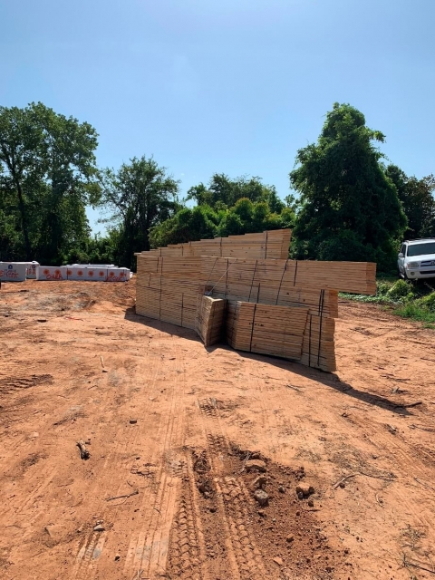Wood materials for construction