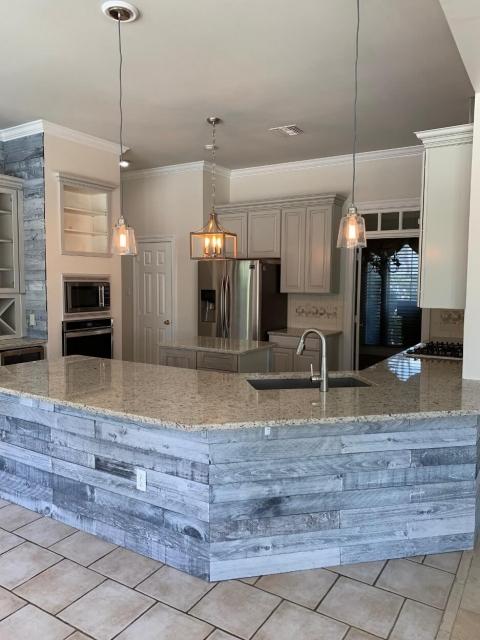 Custom kitchen for client