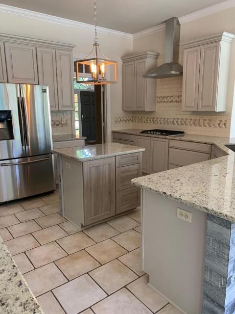 After photo of kitchen renovation
