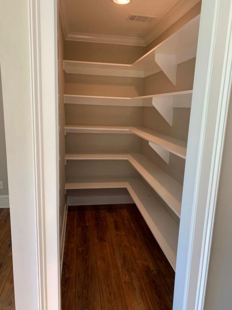 Custom bedroom closet